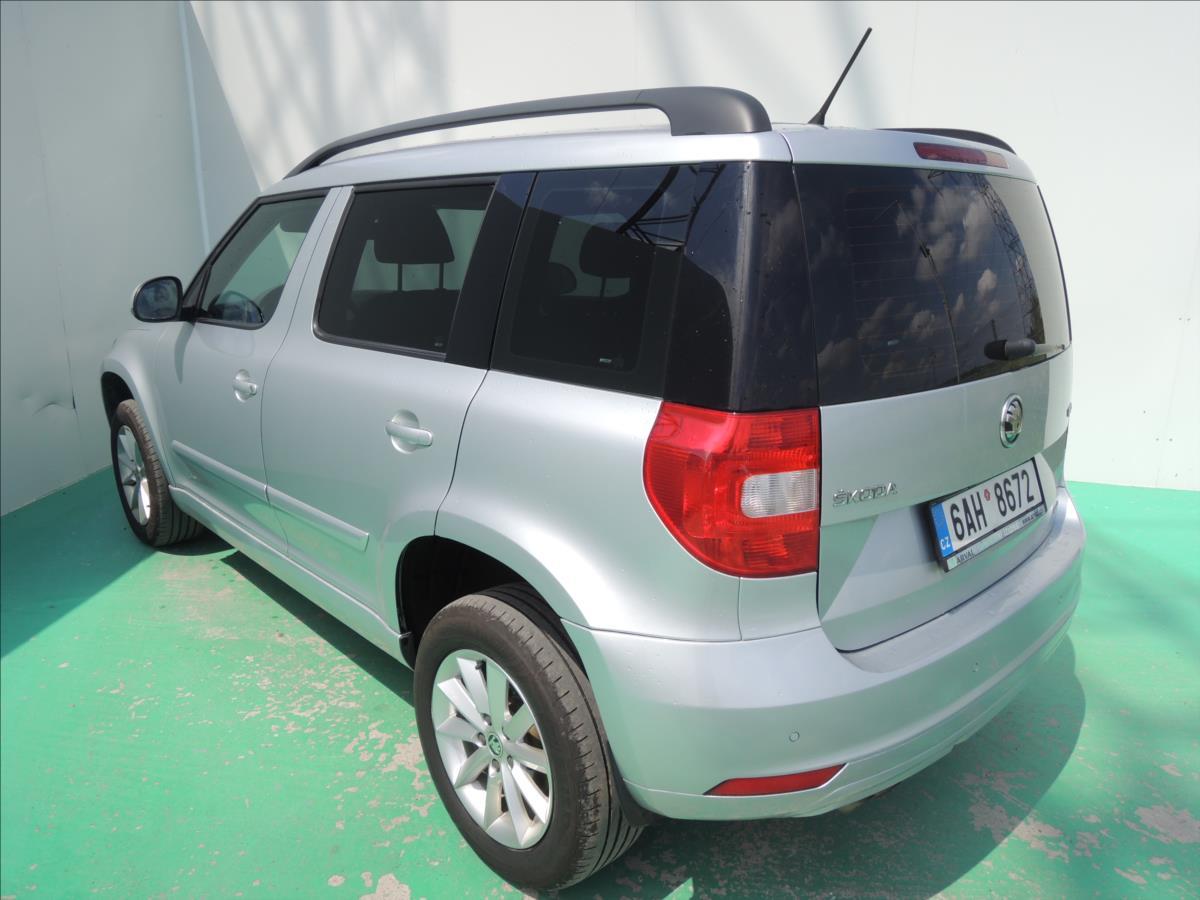Škoda Yeti, 2017