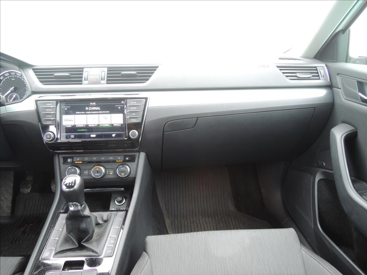Škoda Superb, 2017