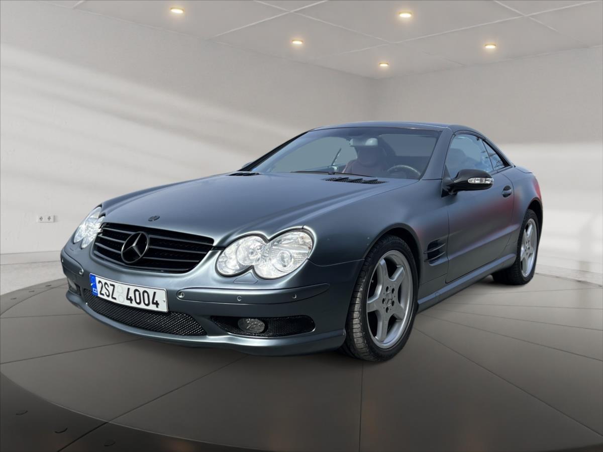 Mercedes-Benz SL, 2002