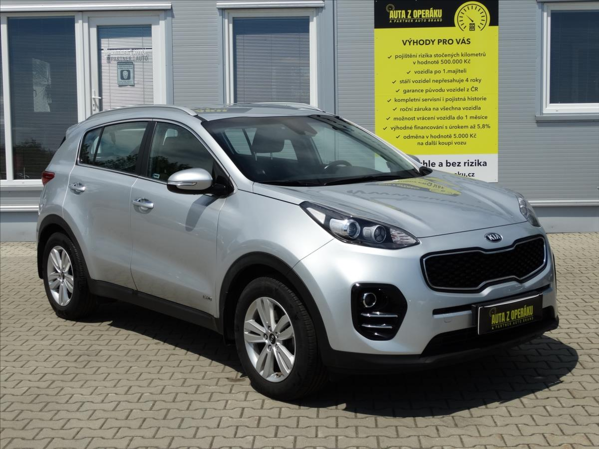 Kia Sportage 2,0 CRDI, 4×4, Exclusive